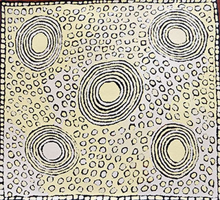 Exposition Tatali Napurrula Photo Red Dunes Gallery with the courtesy of Papunya